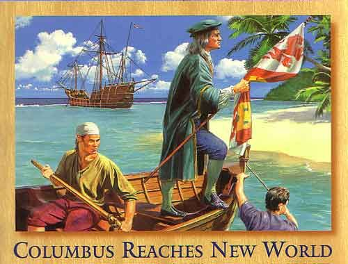 Image result for christopher columbus bahamas