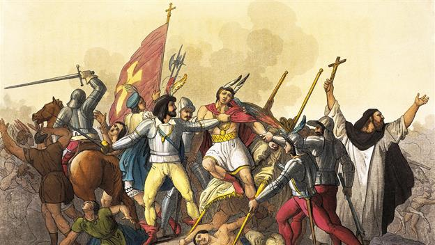 spanish vs aztec weaponry essay